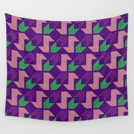 Clover&Nessie_Lavender&Mauve Wall Tapestry