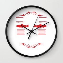 Even Jesus Had A Fish Story Christian Wall Clock