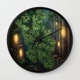 Rain room Wall Clock