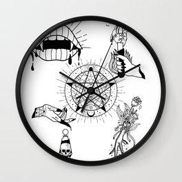 I WILL SLOWLY ROAST YOU Wall Clock