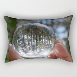 Sunlight through the Lens Rectangular Pillow
