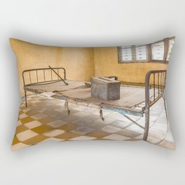 S21 Building B Cell II - Khmer Rouge, Cambodia Rectangular Pillow