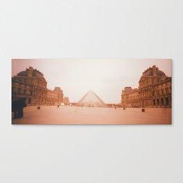 Wavy Louvre 1 Canvas Print