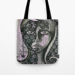 Two Sides of the Story Tote Bag