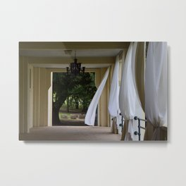 Empty Hall Metal Print