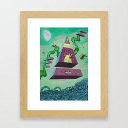 Laguz Framed Art Print