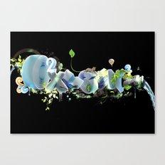 Oxygen CO2 Canvas Print