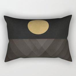 Moon Reflection on Quiet Ocean Rectangular Pillow