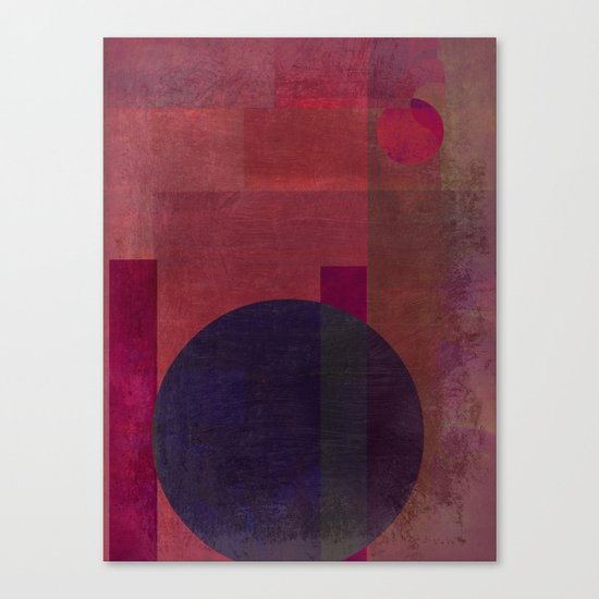 Abstract: Situating Canvas Print