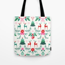 Scandinavian Christmas Tote Bag