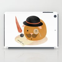 guinea pig iPad Cases featuring Guinea Pig Portrait 2 by NdKf