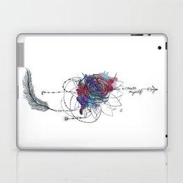I Create Myself/ Bad Wolf Dream Catcher Laptop & iPad Skin