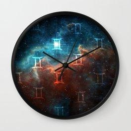 Gemini Comos Wall Clock