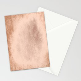Brown grunge texture Stationery Cards
