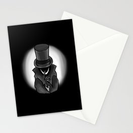 He's Coming for You Stationery Cards