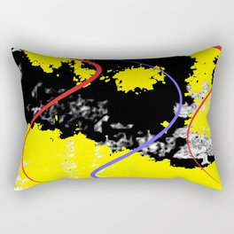 Abstraction Boulevard Rectangular Pillow
