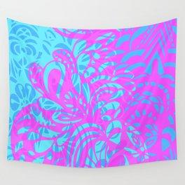 Amorph dark neon  Wall Tapestry