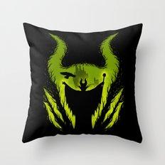 The Evil Fairy Throw Pillow