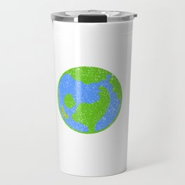 Great Animal Welfare Tee For Activitist Illustration Of Earth Surrounding Different Kind Of Animals Travel Mug
