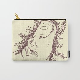 Fabulous Hippo Carry-All Pouch