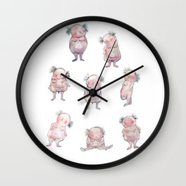 Little Males Wall Clock