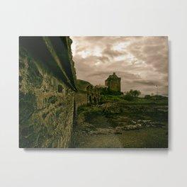Eilean Donan Castle, Kyle of Lochalsh, Scotland Metal Print