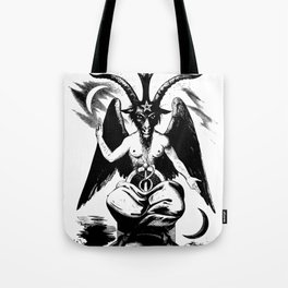 BAPHOMET by ELIPHAS LEVI Tote Bag