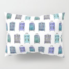 Let's Go Somewhere - Blue Pillow Sham