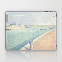 Georges Seurat - The Channel of Gravelines Laptop & iPad Skin