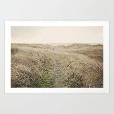 Ocean Trail Art Print