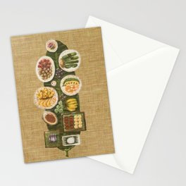 Fiesta (3/3) painting by Phoebe Lim Stationery Cards