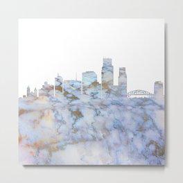 Corpus Christi Texas Skyline Metal Print