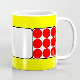 The Bicycle Race Jerseys 2 Yellow Coffee Mug