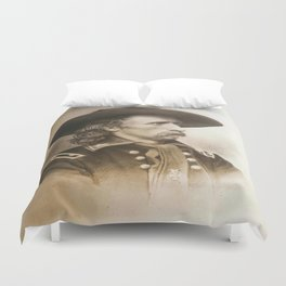 General George Armstrong Custer 1860 Duvet Cover