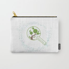 minimal abstract art tree of life Carry-All Pouch