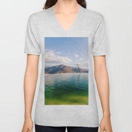 Lake in the Sky Unisex V-Neck