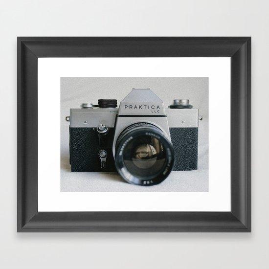 Praktika 35mm Vintage Camera Framed Art Print