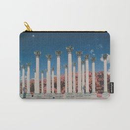 Capital Columns in infrared Carry-All Pouch
