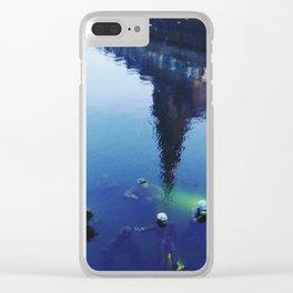 Agnete og Havmanden Clear iPhone Case