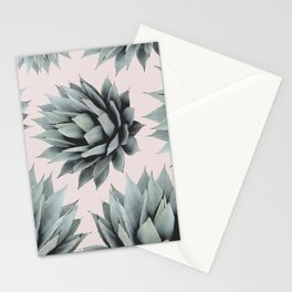 SUCCULENTS PATTERN Stationery Cards