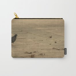 dove in park Carry-All Pouch