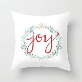 Holiday Joy Throw Pillow