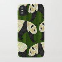 panda iPhone & iPod Cases featuring Panda by Ben Geiger