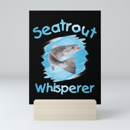Seatrout Whisperer Spotted Mini Art Print