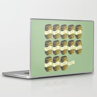 hobbit Laptop & iPad Skins featuring 13 barrels - Hobbit by KanaHyde