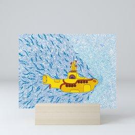 My Yellow Submarine Mini Art Print