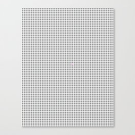 The Tiny Unruly Pink Dot Canvas Print