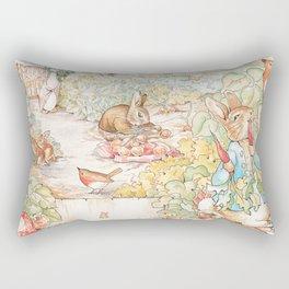 The World of Beatrix Potter illustration Rectangular Pillow