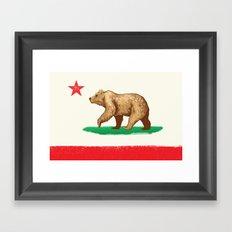 California Republic Framed Art Print