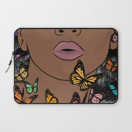 You Give Me Butterflies Laptop Sleeve